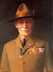Robert Baden-Powell Portrait