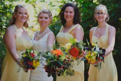 Kelly and her Bridal Party