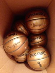 Spalding supplying the SWAG.
