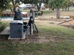 relocating underground propane tank
