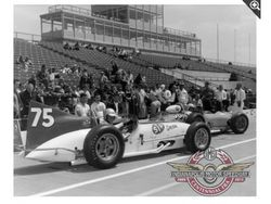 1956 Kurtis 500F in the 1963 Indy 500
