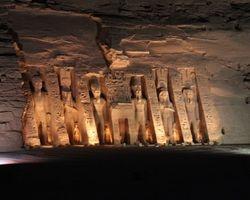 Lake Nasser : Great Temple of Abu Simbel