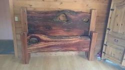 Cedar King size- driftwood