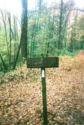 Hightown Gap Sign Post