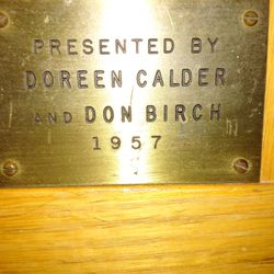 Doreen Calder and Don Birch 1957