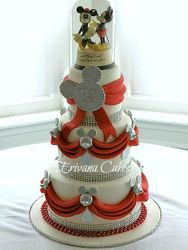 Disney Themed wedding Cake, Inspired by Its My Cake