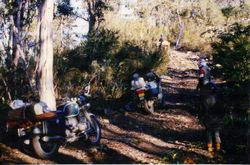 1986 Alpine Rally @ Perkins Flat - Lost! coming in from Wee Jasper along range above Goodradigbee River