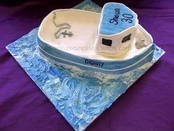 Boat Cake (Dignity)