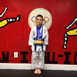 03/08/2015  NJ State TKD Championship  Garry Woods  3rd Place Forms 1st Place Breaking  1st Place Weapons 3rd Place Sparring
