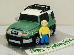 FJ Cruiser cake
