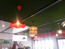 Synthetic Grass Panelling for ceiling.