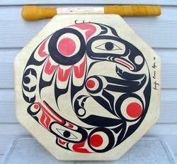 Thunder Bird and Wolf Drum