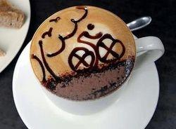 fiets koffie