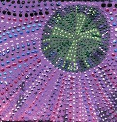 Purple Eve - 5 x 5