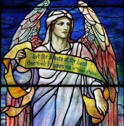 Tiffany, Angel, St Johns Episcopal Church, Larchmont