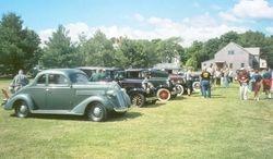 The Saturday car show