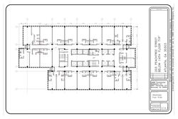 Hotel floor renovation concept plan