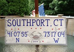 Southport, CT sign