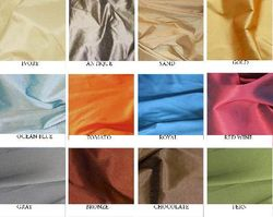 Solid Faux Dupioni Silk Swatch