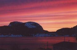 Sunset, Lark Harbour