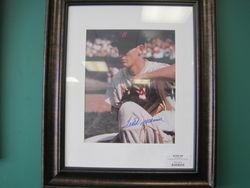 Autographed Ted Williams Photo