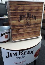 Jim Beam Fridge Raffle