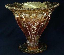 Creole vase marigold,  maker
