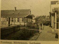 Pensionat Martensson 1941