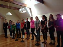 Inspiration rehearsing for the Christmas Season