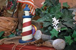 Lighthouse and RR Ties