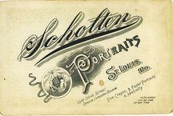 Scholton, photographer of St. Louis, MO