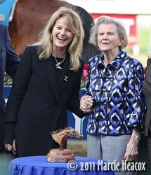 Ann Moss and Penny Chenery