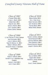 Past CCVHOF Past Inductees