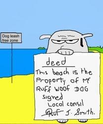 ruff woof dog