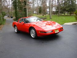 Pat Fullam, 1995 Corvette, 2 Top Flights, Displayed by invitation Carlisle NCRS Gallery XIV