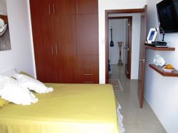 Dormitorio master con closet