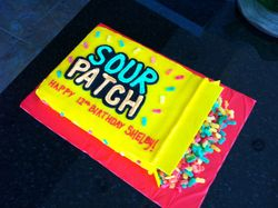 Sour Patch Cake