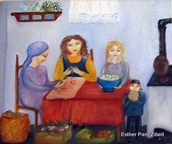Pesach kitchen