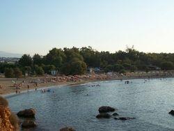 Agii Apostoli west sandy beach