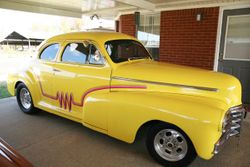 56.48 FIVE WINDOW CHEVY COUPE STREETROD