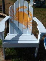 crab adironack chair