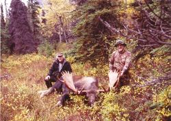 Curt Lindner and his bull