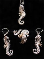 Steven Douglas Seahorse Set