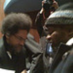 Cornelll West at the Left Forum in NYC