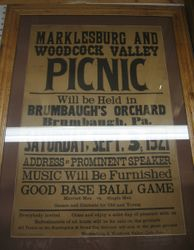 Poster for Picnic at Brumbaugh's Orchard