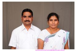 Pastor Raju and his wife