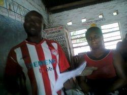 Charles Faramenga co ordinating delivery