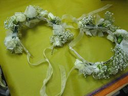 Flower Girls Hairpieces