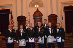 District Officers for the 2nd Degree at Grand Lodge
