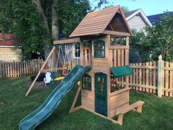 Big Backyard Windale Swing Set assembly - severn MD